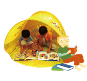 RassLanguage Play Tent