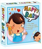 Happy Baby ( 4 Books + 1 DVD )