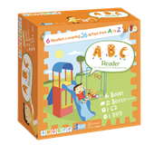ABC Reader ( 6 Books + 1 DVD + 1 CD +  2 Puzzles )