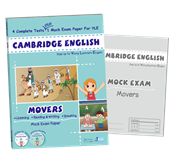 CAMBRIDGE ENGLISH Movers ( 2 CD+ 1 CD-Rom)