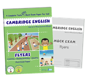 CAMBRIDGE ENGLISH Flyers  ( 2 CD+ 1 CD-Rom)