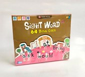 Sight Word 64 Picture Cards Level 3