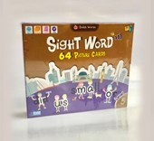Sight Word 64 Picture Cards Level 5