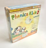 Phonics Kids Set 2 ( 6 Books+ 6 DVD + 6 CD)