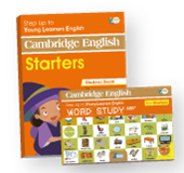 YLE Cambridge English Starters Student Book + Work Study