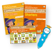 YLE Cambridge English Starters iPEN Pack