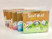 Sight Word 64 Cards Level 1~5 + 95 Dolch Nouns Picture Cards