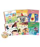 Go! Readers Level 1 ( 6Books+1DVD )