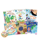 Go! Readers Level 2 ( 6Books+1DVD )