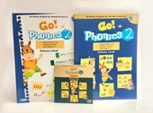 Go Phonics Level 2 Book Set (1Book+1Worbook+1DVD+2Posters)