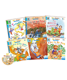 Go! Readers Level 3 ( 6Books+1DVD )