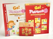 Go Phonics Level 1 Book Set (1Book+1Workbook+1DVD+2Posters)