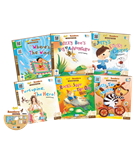 Go! Readers Level 4 ( 6Books+1DVD )