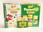 Go Phonics 3A+3B ( 2Books + 1DVD )