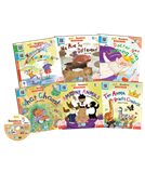 Go! Readers Level 5 ( 6Books+1DVD )