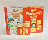 Go Phonics Level 4 Book Set  ( 1Book + 1Workbook + 1DVD )