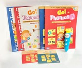 iPEN + Go Phonics Level 1 +2 Full Set