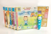 iPEN + Go! Readers Level 1~5 (30Books+5DVD)