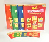 Go Phonics Level 1~4 Books Set ( 4Books + 4Workbook + 4DVD + 4 Posters )