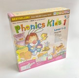 Phonics Kids Set 1 ( 6 Books+ 3DVD + 3CD)